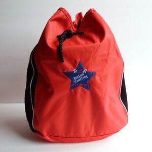 Handbags - Drawstring Nylon Mesh Sports Backpack